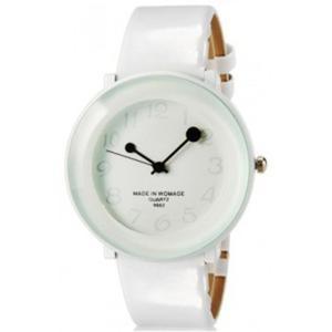 Kolorowy modny zegarek damski analogowy na lato (biały) - 2824376666