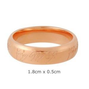 Pierścień Władca Pierścieni - The Lord of the Rings - LOTR (1,8 cm) - 2824377299
