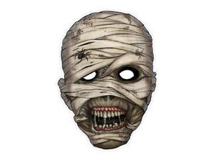 Maska Mumia, 21 x 29cm, 1szt. - 2843107055