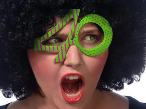Okulary 40, zielony, 1szt. - 2843353074