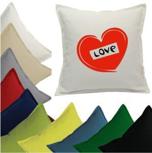 Poszewka LOVE W SERCU - 2863827585
