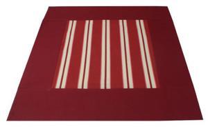 Serweta BORDOWE PASY 50x50 cm - 2857885597
