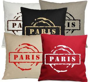 """Poszewka Z NAPISEM """"PARIS"""" - 2857885603"""