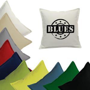 """Poszewka Z NAPISEM """" BLUES """" - 2857885608"""