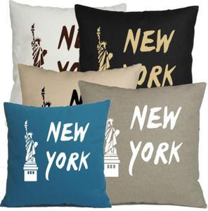 """Poszewka Z NAPISEM """" NEW YORK """" - 2857885612"""