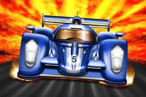 Fototapeta dla dzieci autko wyścigowe 51a - 2837153331