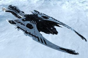 Fototapeta statek kosmiczny 84a - 2837153364