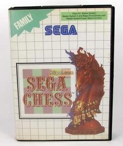 Sega Chess - Sega Master System - 2832576469