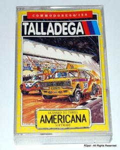 Talladega - oryginał do Commodore C64 - 2832576699