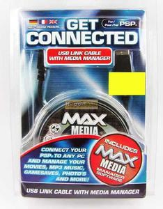 Get Connected - Kabel USB do PSP i MediaManager CD - 2832576390