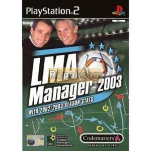LMA Manager 2003 OEM PS2 - 2832576409