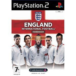 England International Football PS2 - 2832576413