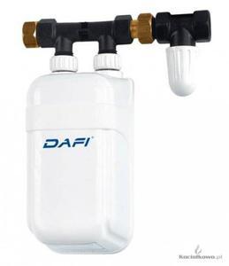 DAFI Elektryczny przepływowy podgrzewacz z przyłączem, 7,5 kW, 400 V - 2822204289