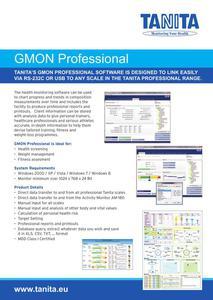 Oprogramowanie do Wagi / Monitora Składu Ciała TANITA BC-1000 GMON FIT 3 - 2822879465
