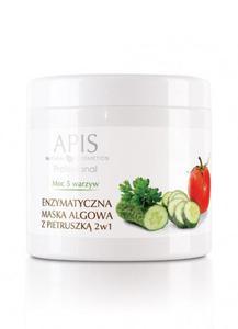APIS Moc 5 Warzyw enzymatyczna maska algowa z pietruszką 2w1 250 g - 2857348793