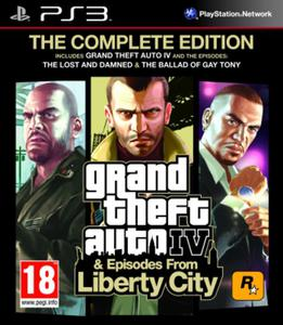 Grand Theft Auto GTA IV: Complete Edition - 2825260020