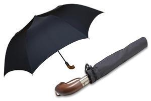 Automatyczna czarna parasolka rodzinna marki Parasol, XXL, 130 cm - 2848500041