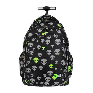 Trzykomorowy plecak szkolny na k - 2860648286