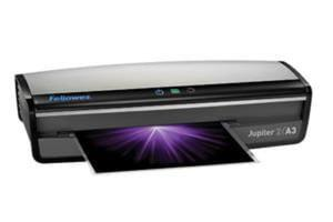 Laminator Jupiter 2 A3 Fellowes + PAKIET STARTOWY FOLII DO LAMINOWANIA GRATIS + Folia A4 od Fellowes - 2829674626