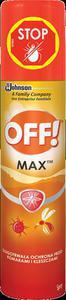 OFF! Active MAX SPRAY 100ml - środek odstarszający owady - 2827725471