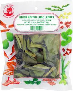 Liście limonki Kaffir suszone 10g MERRE - 2865847959