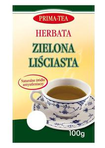 Herbata ZIELONA liściasta 100g PRIMA-TEA - 2865848021