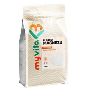 MyVita Chlorek magnezu sześciowodny - płatki 1000g - 2872962692