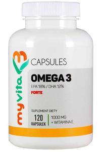 MyVita Omega-3 Forte 1000mg, 120kaps. - 2881204744