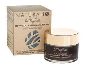 BIOrythm Biowitalny krem-maska na noc z olejem z opuncji figowej 50ml NATURALIS - 2887561726