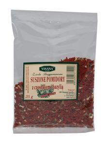 Suszone pomidory+czosnek+bazylia 25g VISANA - 2865845655