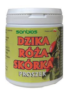 SANBIOS Dzika róża skórka proszek 200g - 2865846183