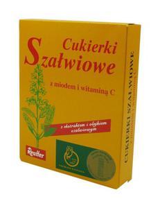 Cukierki Szałwia z Miodem 50g REUTTER - 2865846351