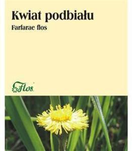 Podbiał kwiat 25g FLOS - 2865846622