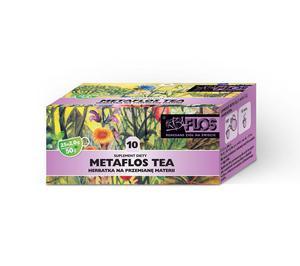 Metaflos 10 TEA 25fix - przemiana materii HERBA-FLOS - 2865846885