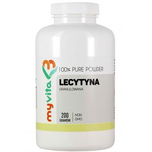 MyVita Lecytyna non-gmo granulowana 200g - 2865847452