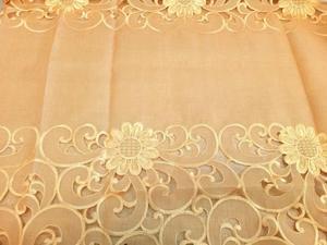 Obrus haftowany SARA 130x180 Pomarańczowy Niska cena!!! - 2823058725