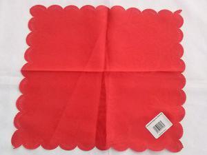 Obrus plamoodporny 30x30 Czerwony - 2863975272