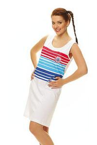 246f8b2da15d5 Koszula damska na ramiączka 165 rozmiar M biała w paski Luna Niska cena!