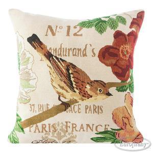 Poszewka dekoracyjna 45x45 Bird 02 gobelinowa Eurofirany - 2835592888