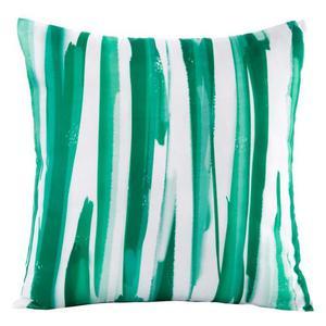 c70211560028d Poszewka dekoracyjna 45x45 Strips paski zielona Eurofirany - 2863975618