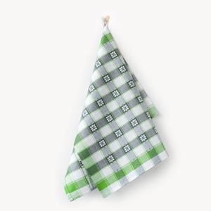 Ścierka do naczyń 50x70 Czapla 6985/11 Margaretka zielono szara Zwoltex - 2863976222