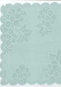 Obrus plamoodporny 30x30 zielony winogrona - 2863976233