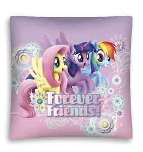 Poszewka Kucyki Pony 3D 40x40 D 9493 My Little Pony na liliowym tle poliester - 2859927020