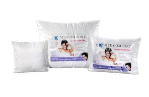 Poduszka antyalergiczna Med Comfort 40x40 bia - 2835591973