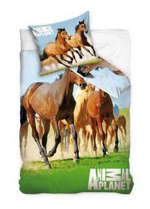 Pościel Konie Animal Planet 160x200 C Koń AP6008 0690 - 2833878830