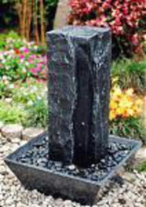 Fontanna ogrodowa z granitu Wodospad 90cm - 2832980797