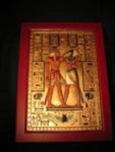 EGIPSKA PŁASKORZEŹBA OBRAZ II - 2832979481