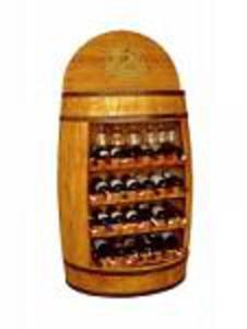 Beczka efektowny barek na alkohol - 2832980307