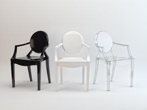 Krzesło LOUIS GHOST - 2416525771