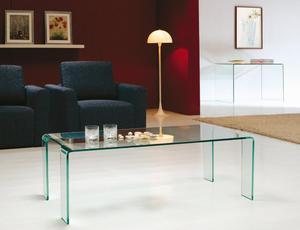 Stolik kawowy / ława szklana model PASSERELLA - 2416528929
